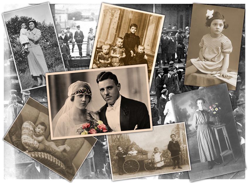 alte schwarzweiss bilder