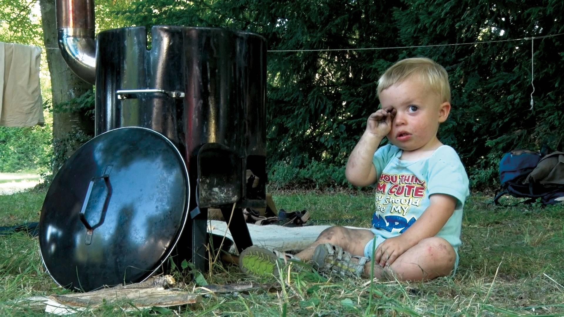 Theo und sein Ofen
